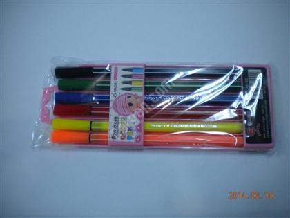 Fosforlu keçeli 6lı kalem ,Toptan Satış
