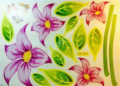 toptan duvar sticker çiçek cxc012 ,Toptan Satış