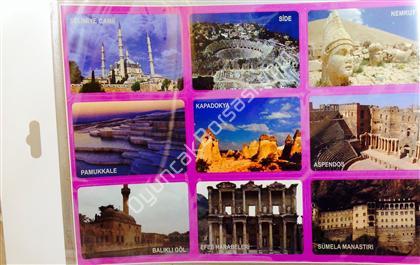 Tarihi yerler stickeri ,Toptan Satış