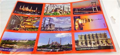 Tarihi yerler İstanbul sticker ,Toptan Satış