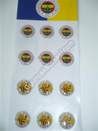 Fb Takım Arması Damla sticker ,Toptan Satış
