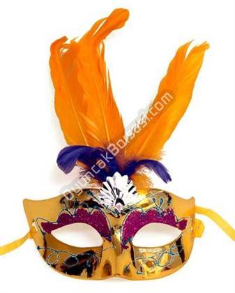 Simli Tüylü Pvc Parti Maskesi ,Toptan Satış