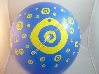 Toptan Baskılı Balon Nazar Model ,Toptan Satış