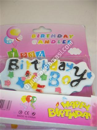 Doğum günü mumu brthday girl yazılı ,Toptan Satış