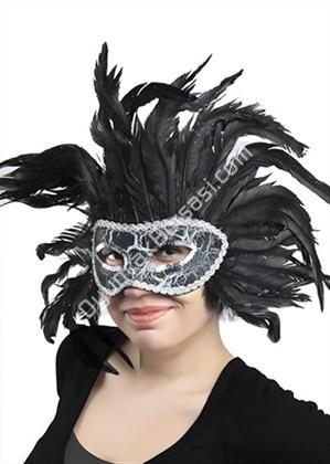 Siyah tüylü parti maskesi ,Toptan Satış