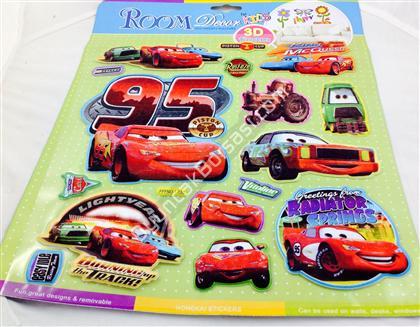 3 boyutlu kabartma sticker arabalar modeli ,Toptan Satış