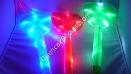 Toptan Işıklı çubuklar büyük kalp model ,Toptan Satış