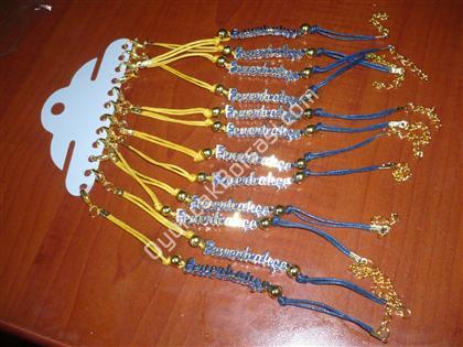 Toptan Taraftar Ürünleri FB Takım Bilekliği Metal ,Toptan Satış