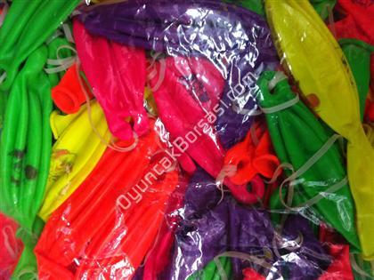 Toptan fosforlu bask�l� punch balon ,Toptan Sat��
