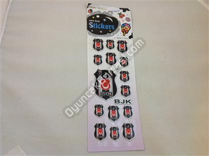 BJK takım armalı damla sticker 2 ,Toptan Satış