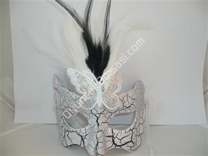 Tüylü kelebek maske ,Toptan Satış