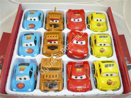 oyuncak toptan 12 li şimşek araba set ,Toptan Satış