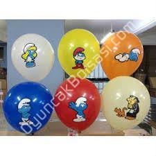 şirinler baskılı balon toptan balon ,Toptan Satış