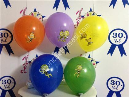 arı maya baskılı balon toptan balon ,Toptan Satış