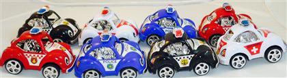 Mini çekbırak polis arabası 6 lı  ,Toptan Satış