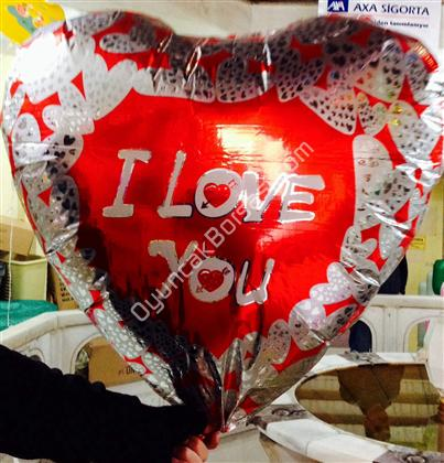 Toptan folyo balon jumbo 36 inç 108 cm kalp model ,Toptan Satış