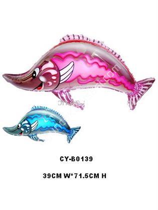 Toptan folyo balon kılıç balığı CY-B0139 ,Toptan Satış