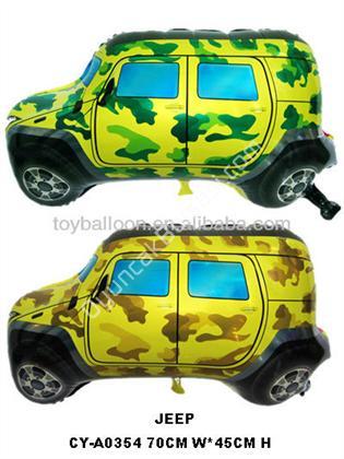 askeri jeep model folyo balon ,Toptan Satış