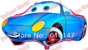 arabalar mavi renk folyo balon ,Toptan Satış