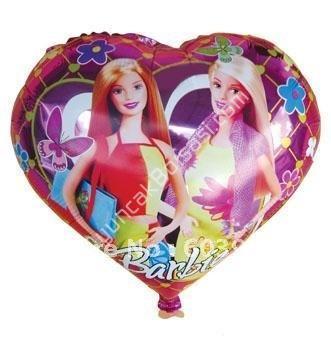 toptan folyo balon kalpli  barbie 18 inç ,Toptan Satış