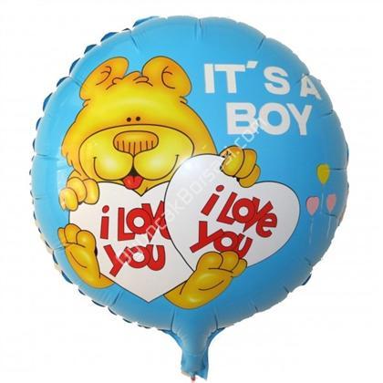 itsa boy  folyo balon ,Toptan Satış