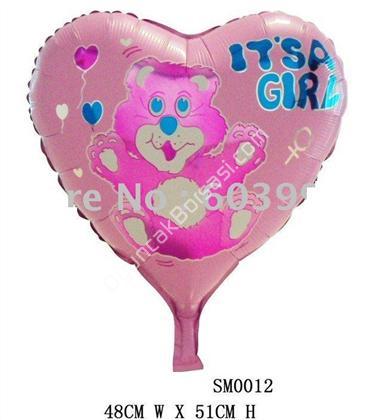 itsa girl kalpli folyo balon ,Toptan Sat��