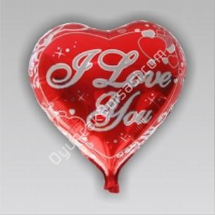 toptan folyo balon kalp seni seviyorum yazılı ,Toptan Satış
