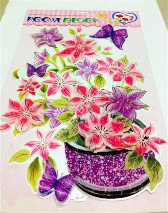toptan 3 boyutlu kabartma sticker çiçekler modeli ,Toptan Satış