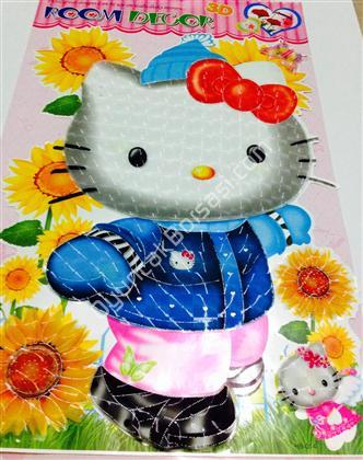 toptan 3 boyutlu sticker hello kitty modeli ,Toptan Satış