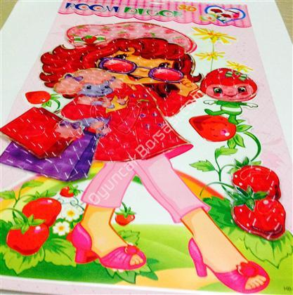 3 boyutlu sticker çilek kız modeli ,Toptan Satış