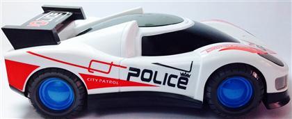 polis arabası oyuncağı 3 boyutlu ışıklı ,Toptan Satış