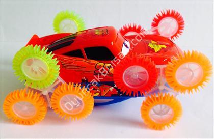 3 boyutlu ışıklı 2 taraflı takla atan oyuncak ,Toptan Satış