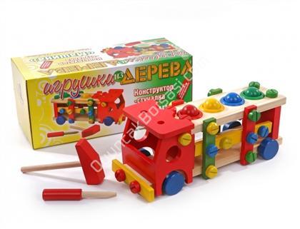 ahşap oyuncaklar söküp takmalı kamyon  ,Toptan Satış