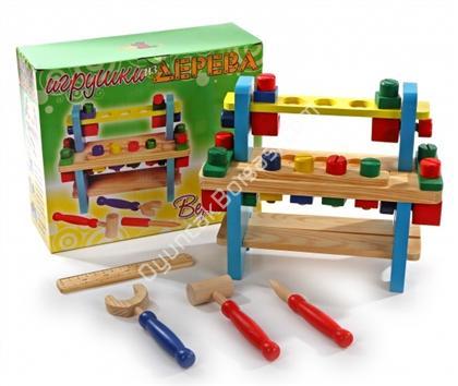 toptan ahşap oyuncaklar Ahşap İnşaat Tezgahı ,Toptan Satış