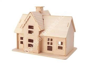 toptan ahşap puzzle köy evi ,Toptan Satış