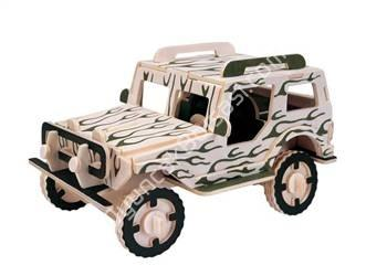 jeep model toptan ahşap puzzle ,Toptan Satış