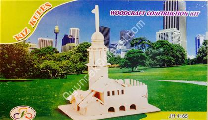 3 boyutlu ahşap kız kulesi maketi ,Toptan Satış