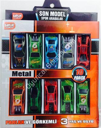 toptan oyuncak 10 lu mini araba seti ,Toptan Satış