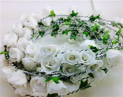 çiçek tacı beyaz gül model ,Toptan Satış