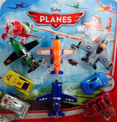 toptan uçaklar filmi oyuncak seti kod 211-8 ,Toptan Satış