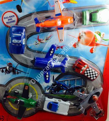 uçaklar filmi oyuncak seti kod 211-9 ,Toptan Satış