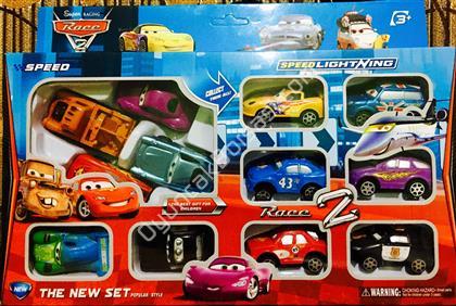 arabalar filmi oyuncak seti 12 li ,Toptan Satış