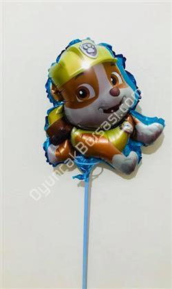 çubuklu folyo balon helikopterli mickey mouse ,Toptan Satış