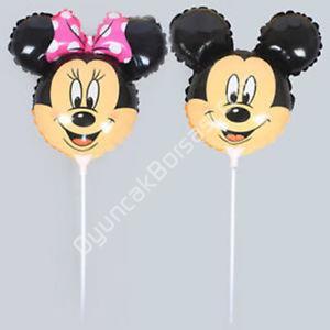 çubuklu folyo balon mickey mouse kafa  ,Toptan Satış