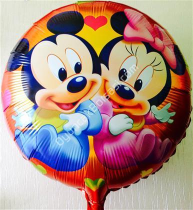 toptan folyo balon yuvarlak mini mickey mause ,Toptan Satış