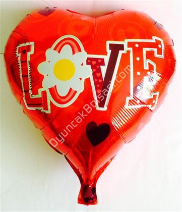 toptan folyo balon kırmızı kalp love yazılı ,Toptan Satış