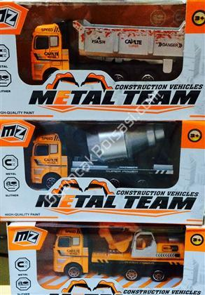 metal oyuncak kamyon seti ,Toptan Satış