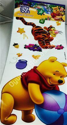 Winidi Pooh model büyük boy lisanslı sticker ,Toptan Satış