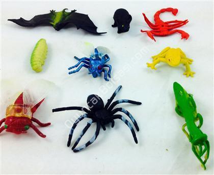 Böcek hayvan seti oyuncağı ,Toptan Satış
