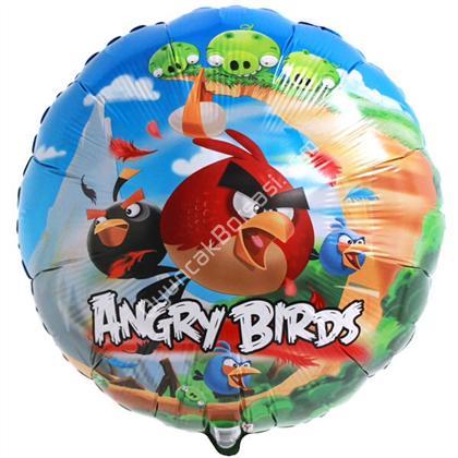 Toptan FOLYO balon yuvarlak angry birds ,Toptan Satış